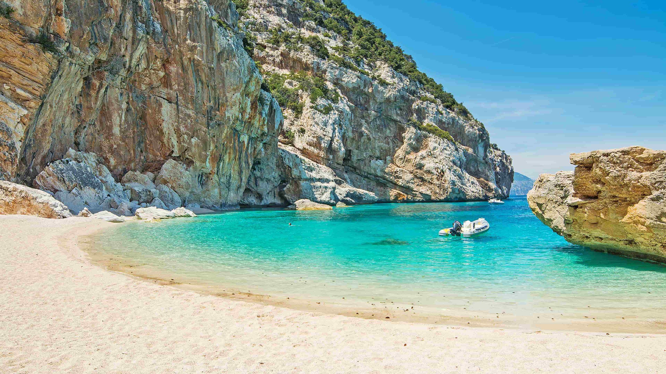 Sardinië strand Cala Mariolu