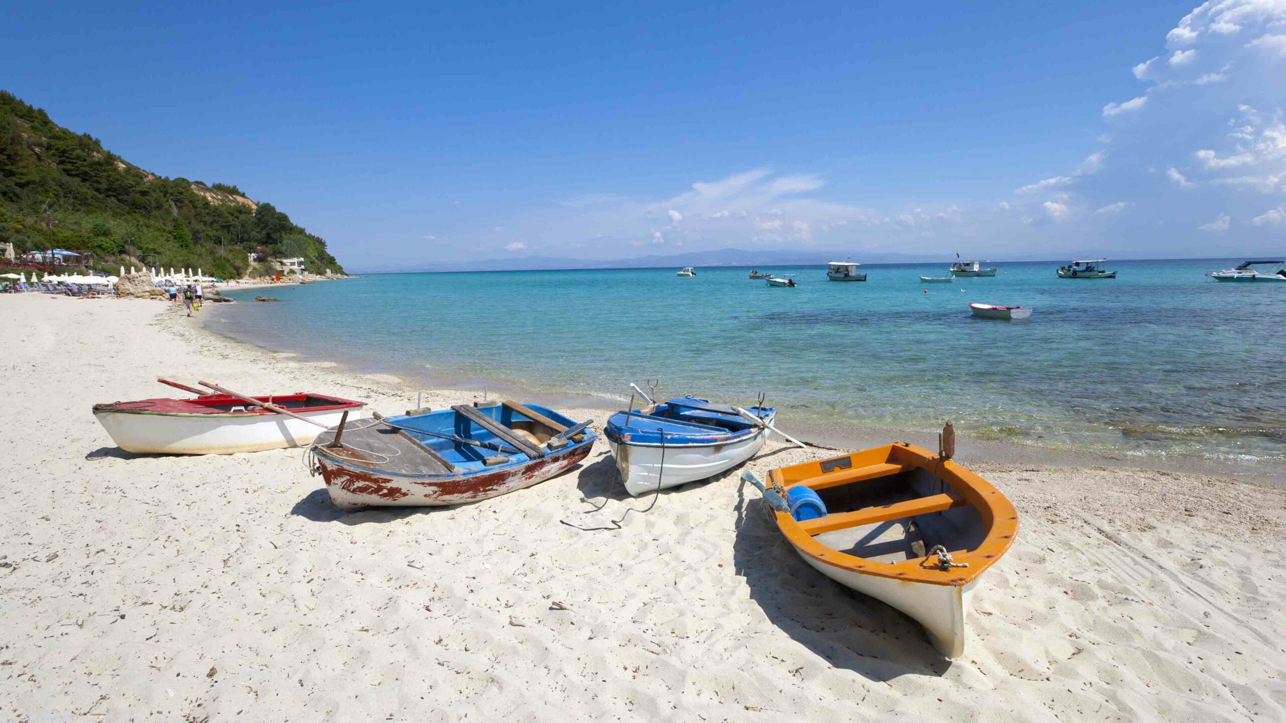 Chalkidiki strand Afytos beach