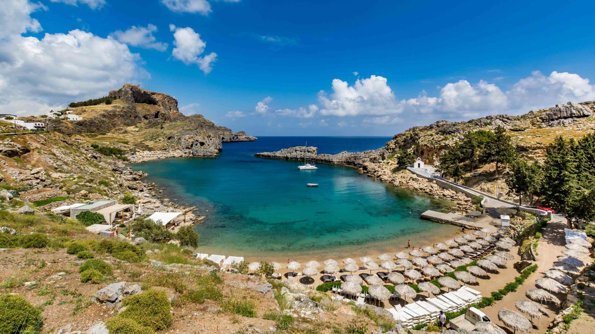 Rhodos strand Agios Pavlos beach