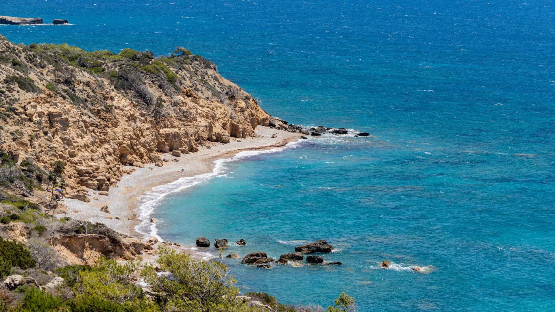 Rhodos strand Fourni beach