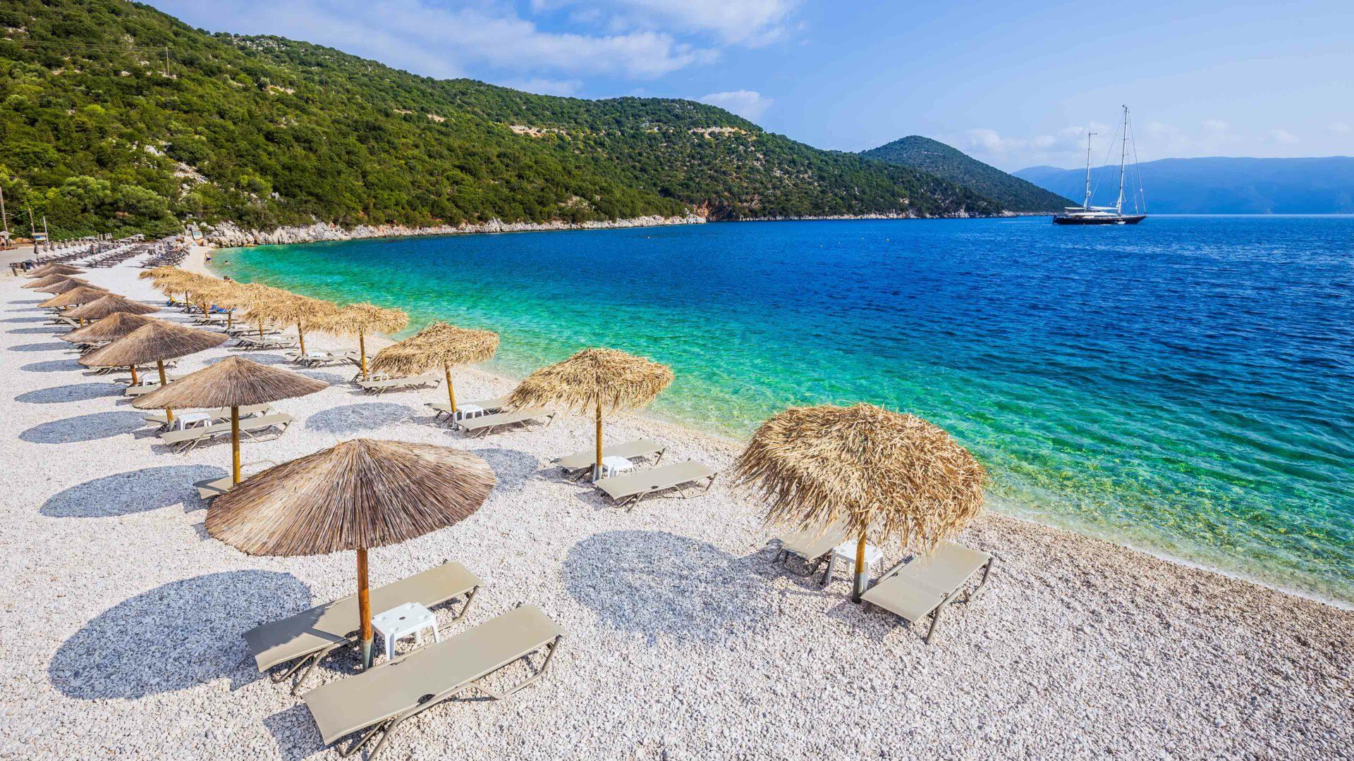 Kefalonia strand Antisamos beach