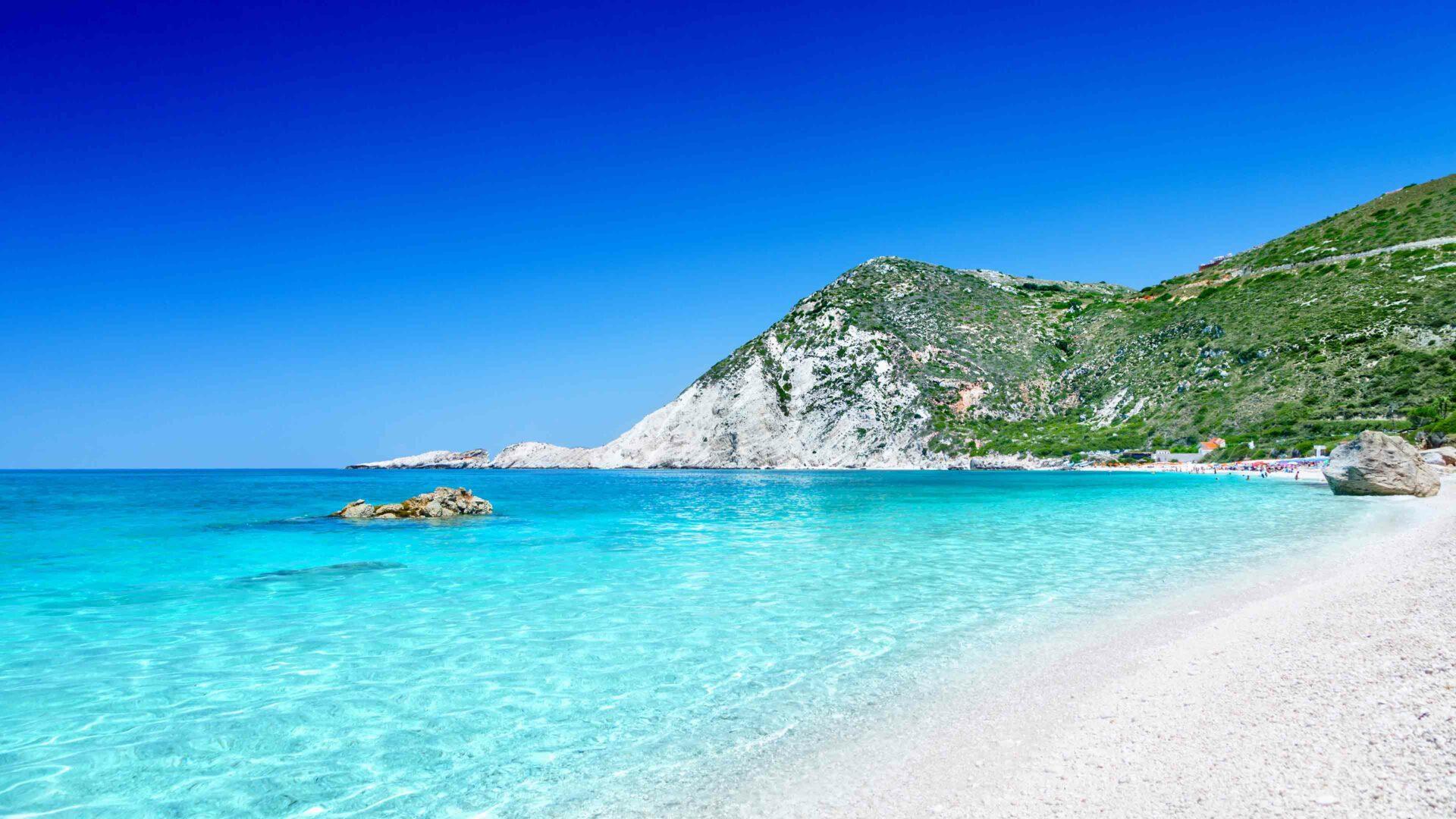 Kefalonia strand Petani beach