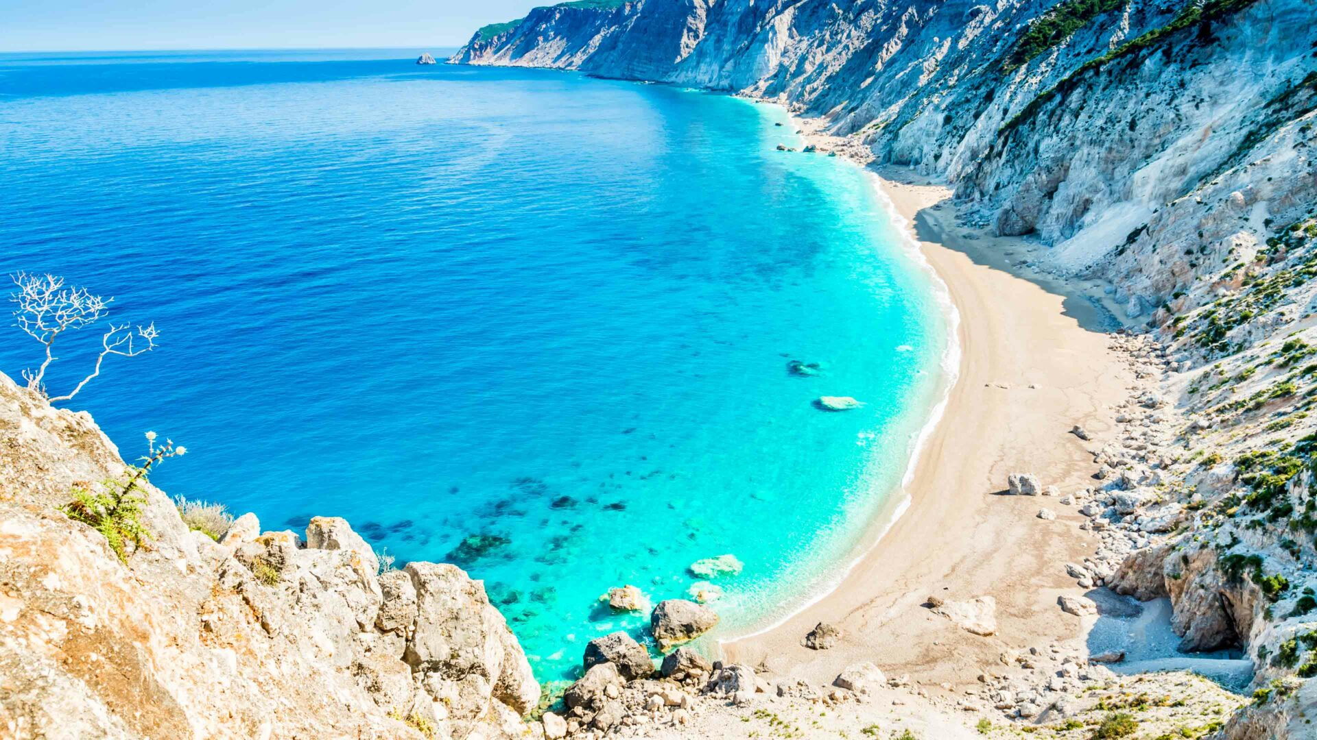 Kefalonia strand Platia Ammos