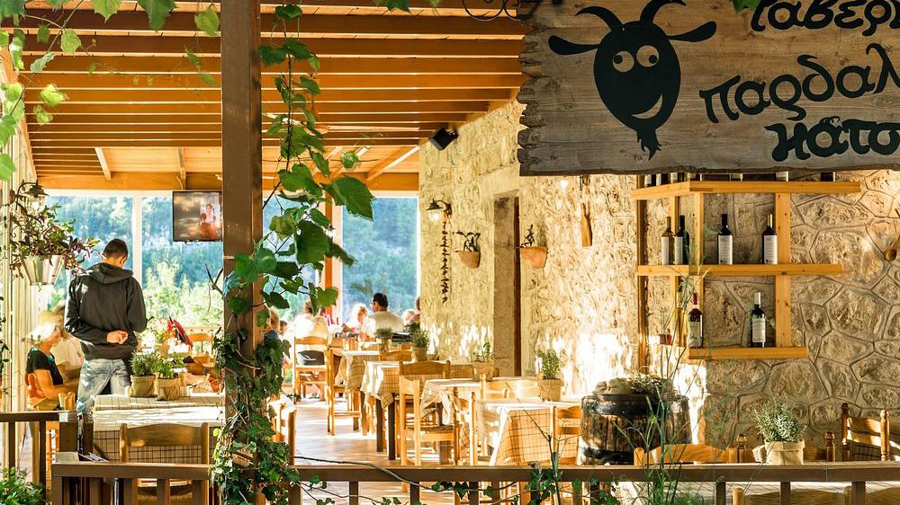 Lefkas restaurant Pardalo Katsiki