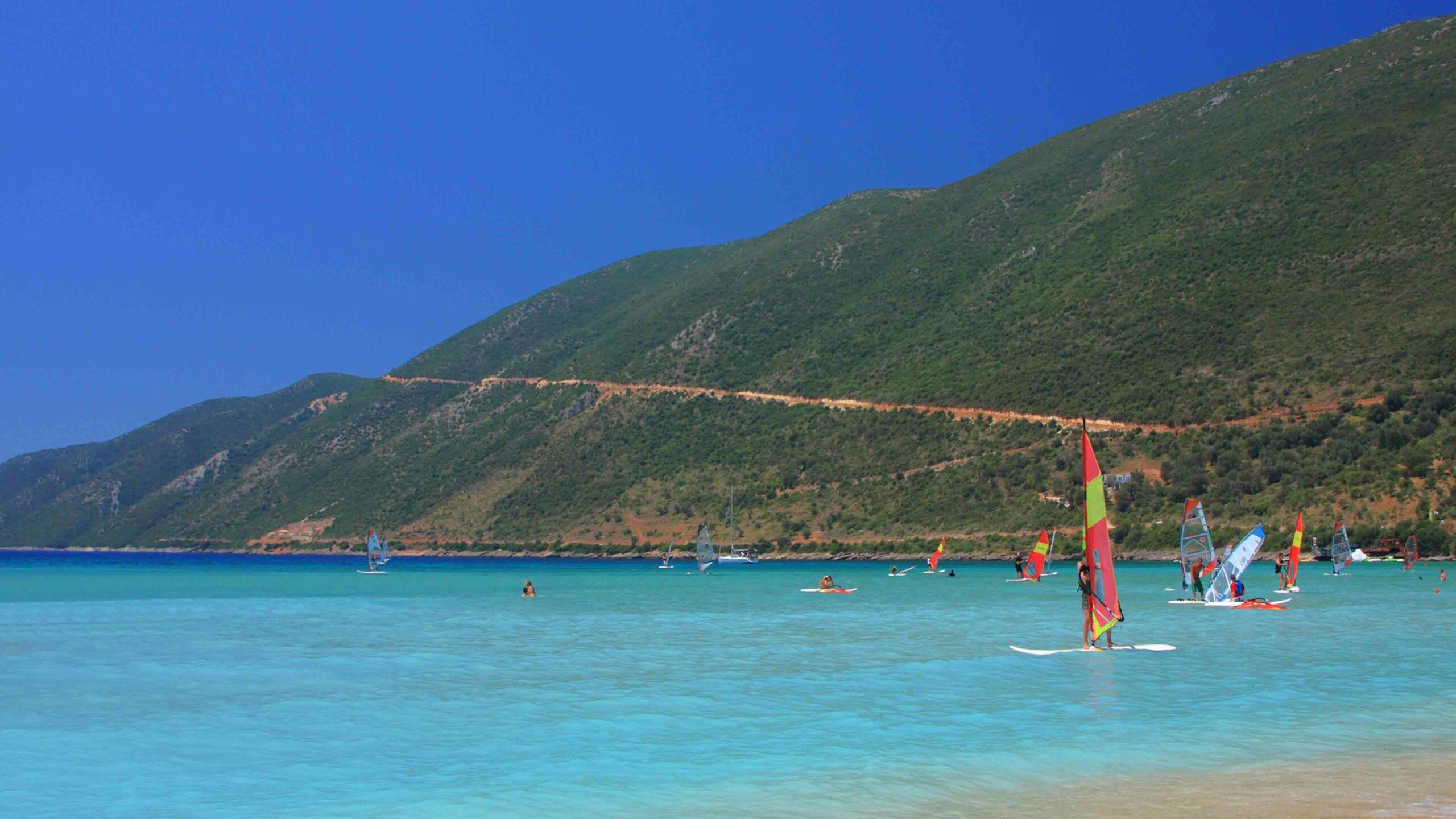 Lefkas strand Vassiliki