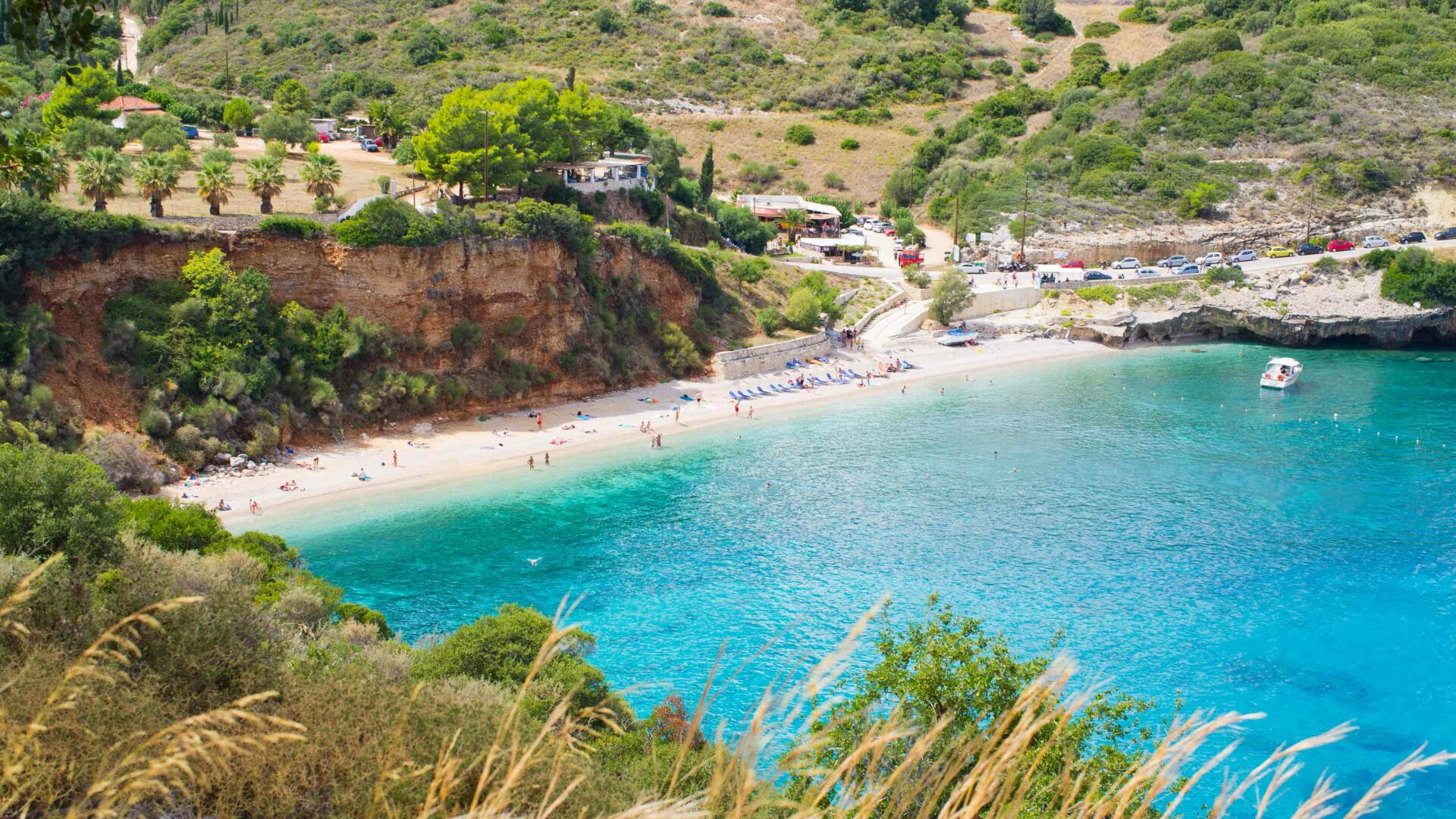 Zakynthos strand Makris Gialos