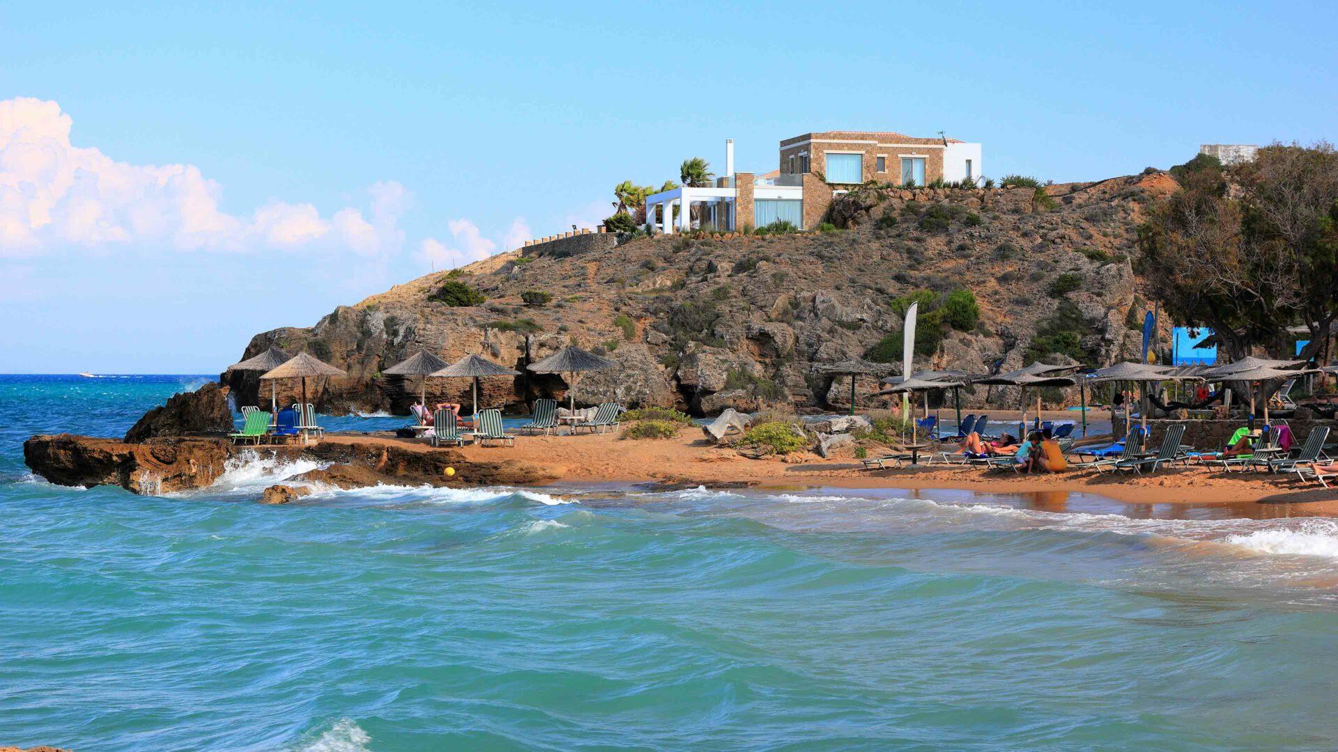 Zakynthos strand Plaka Beach