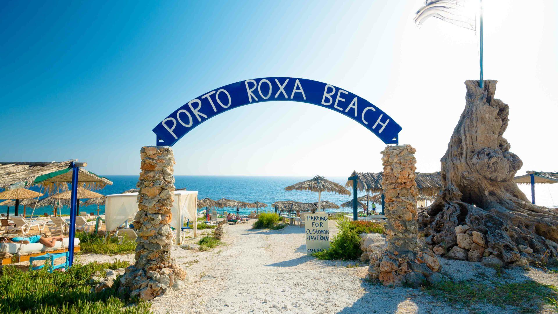 Zakynthos strand Porta Roxa Beach