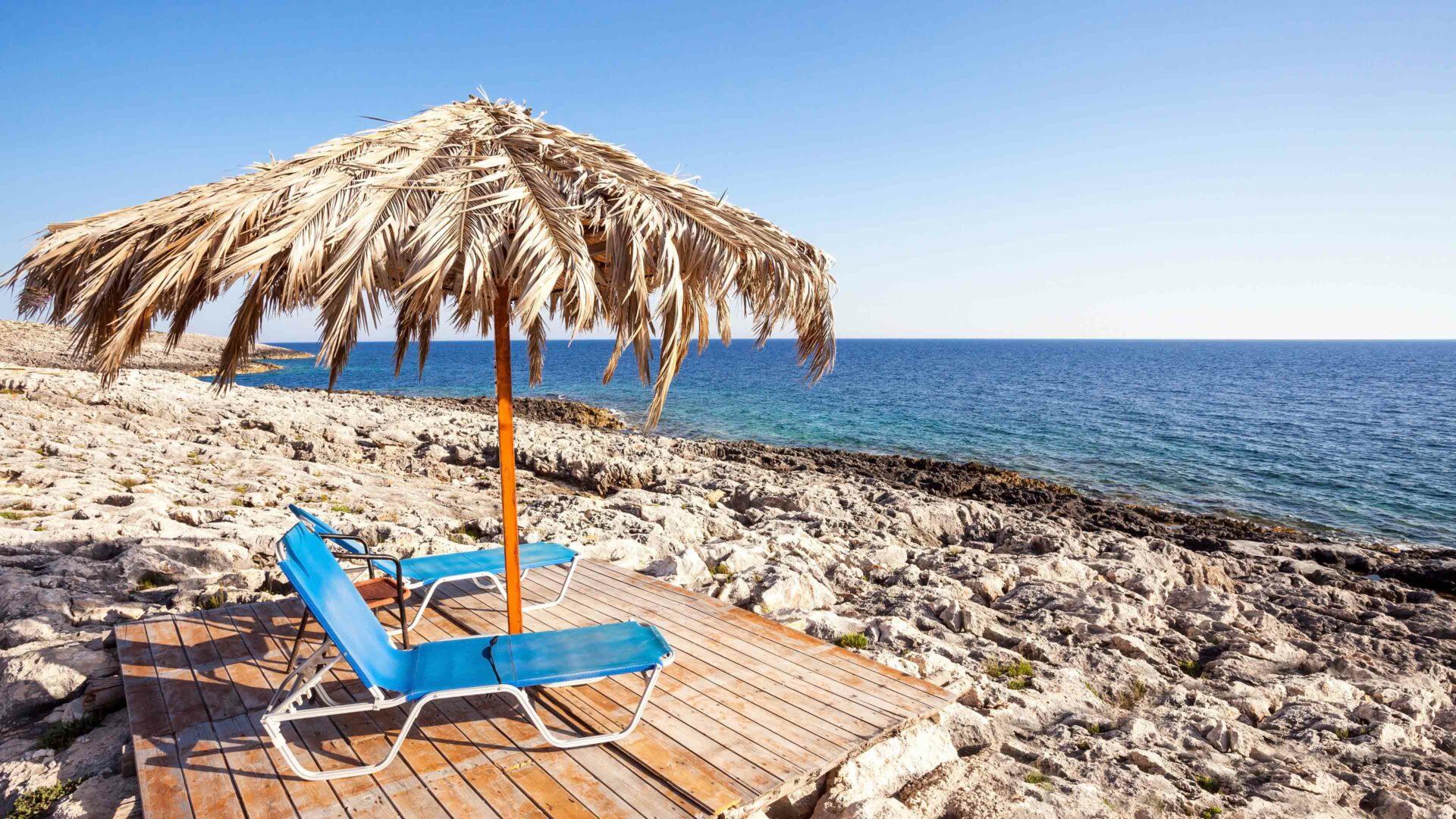 Zakynthos strand Vrahos beach