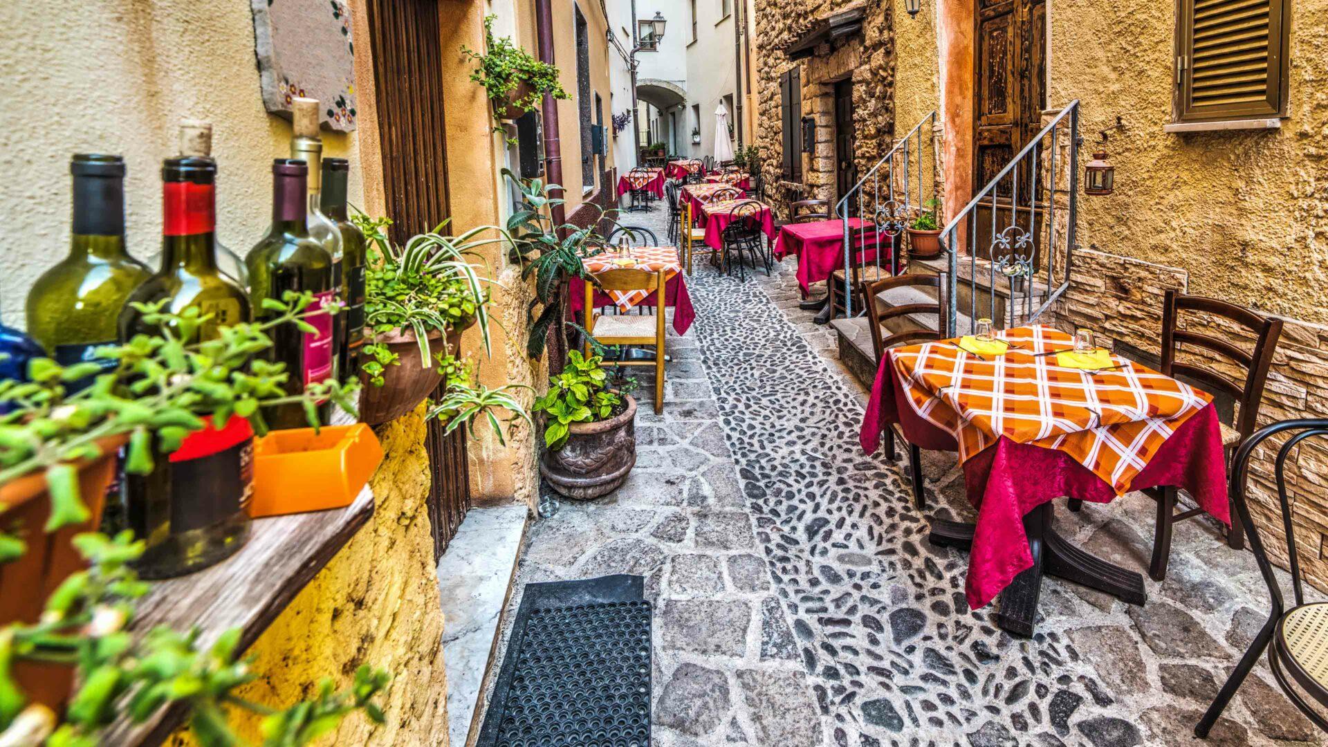 Restaurants op Sardinië