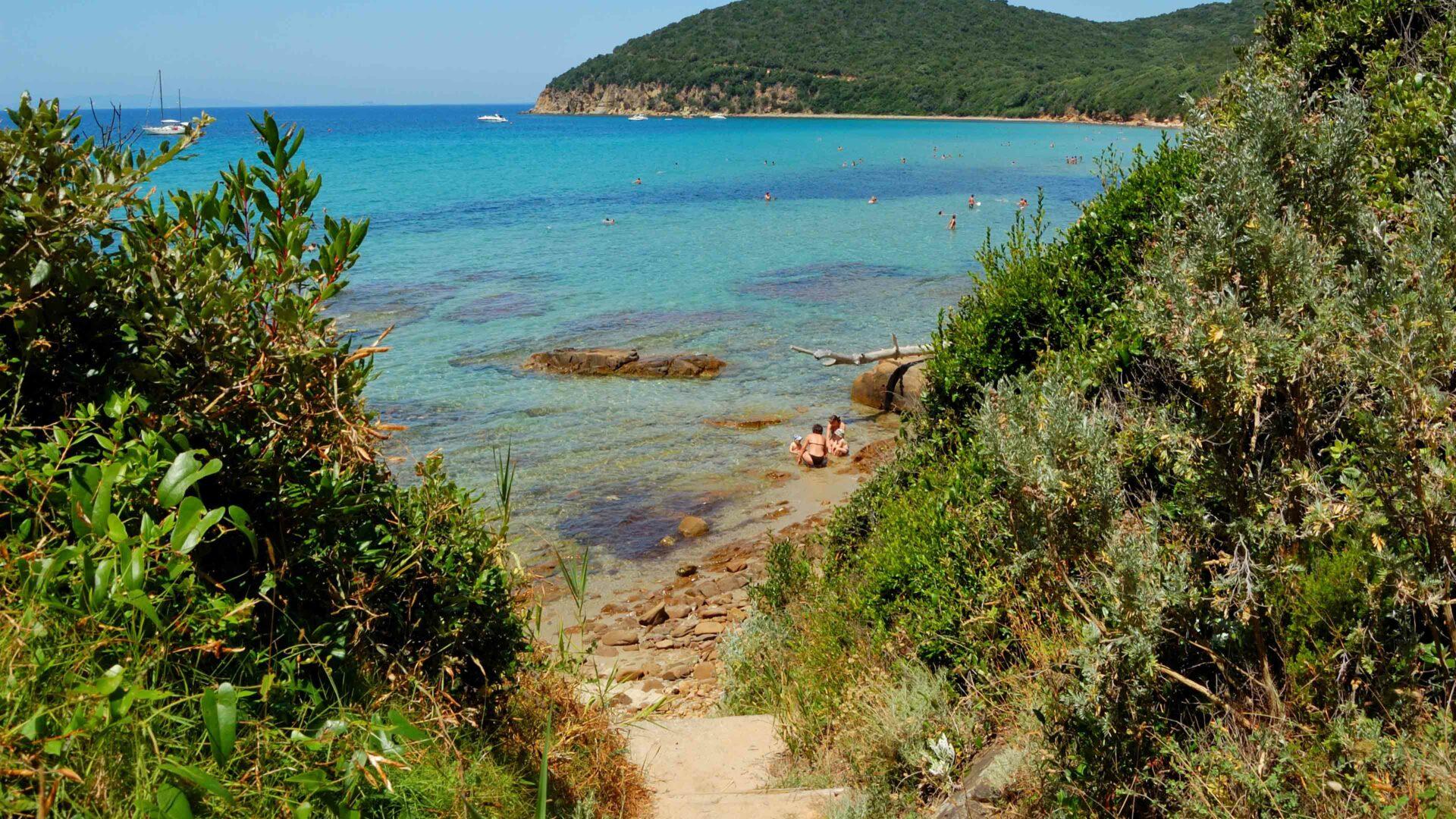 Toscane strand Cala Violina