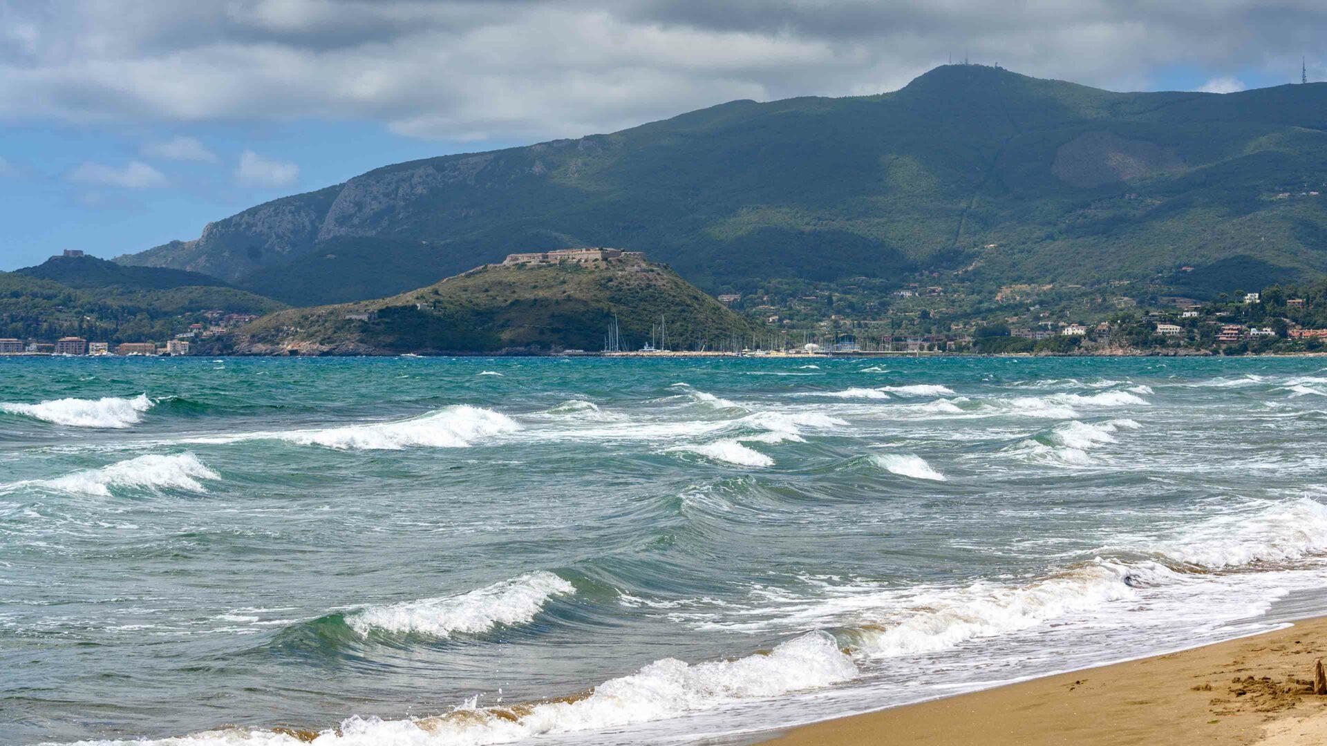 Toscane strand Feniglia, Maremma