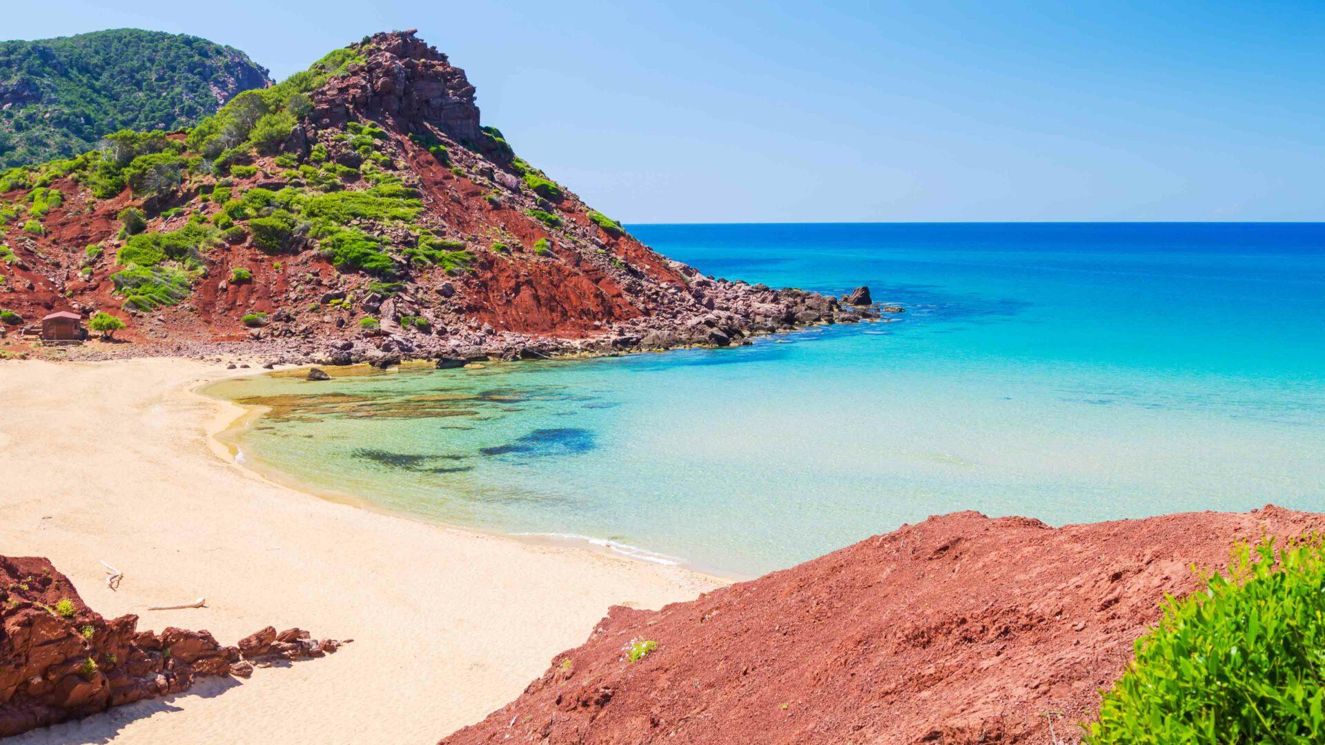 Menorca strand Cala del Pilar