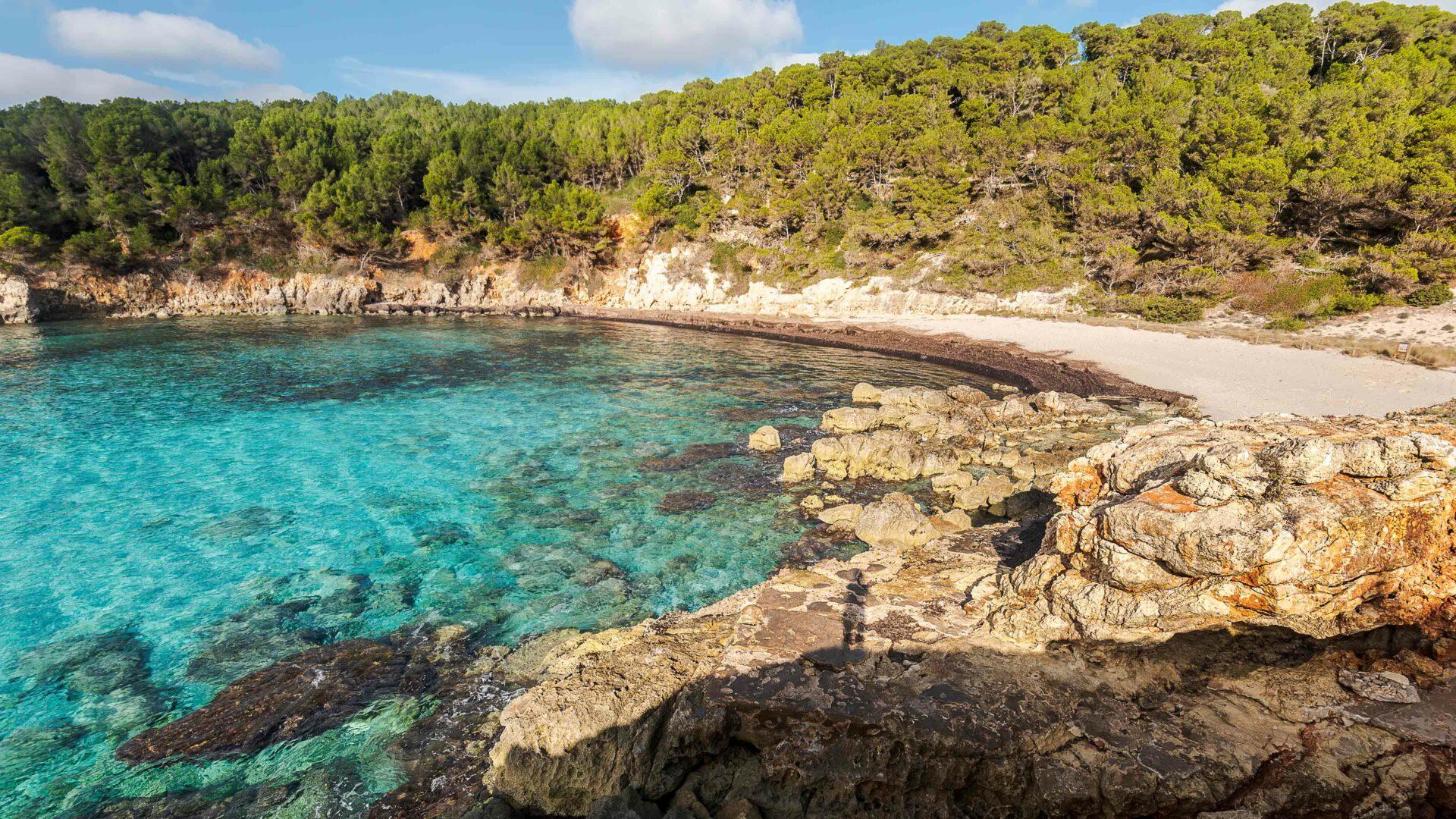 Menorca strand Cala Escorxada
