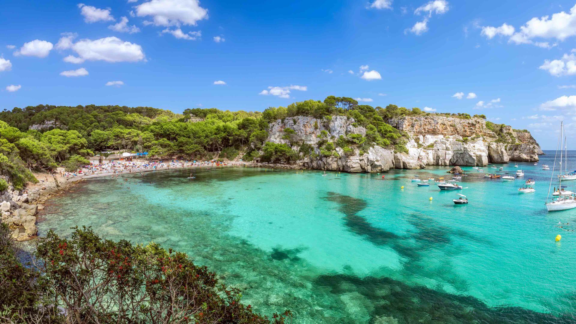 Menorca strand Cala Macarella