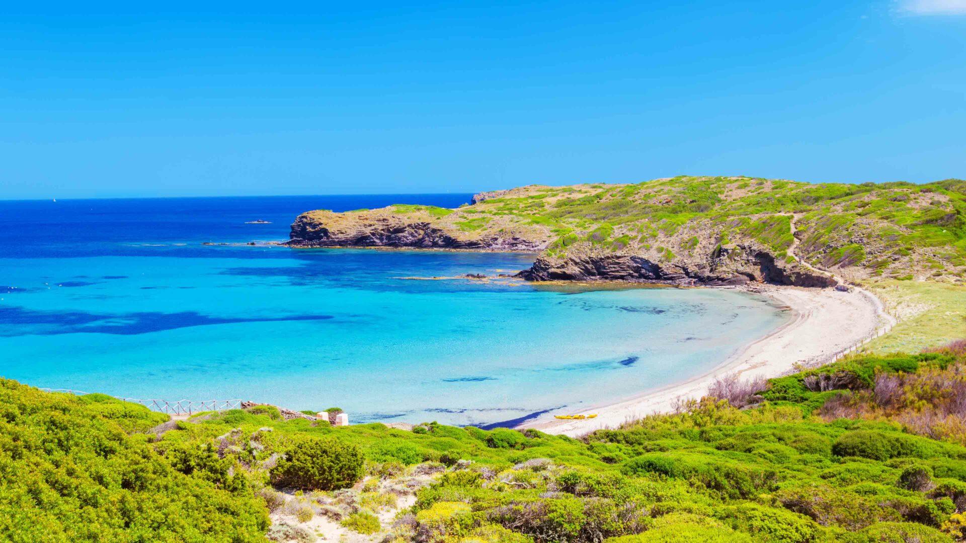 Menorca strand Cala Tortuga