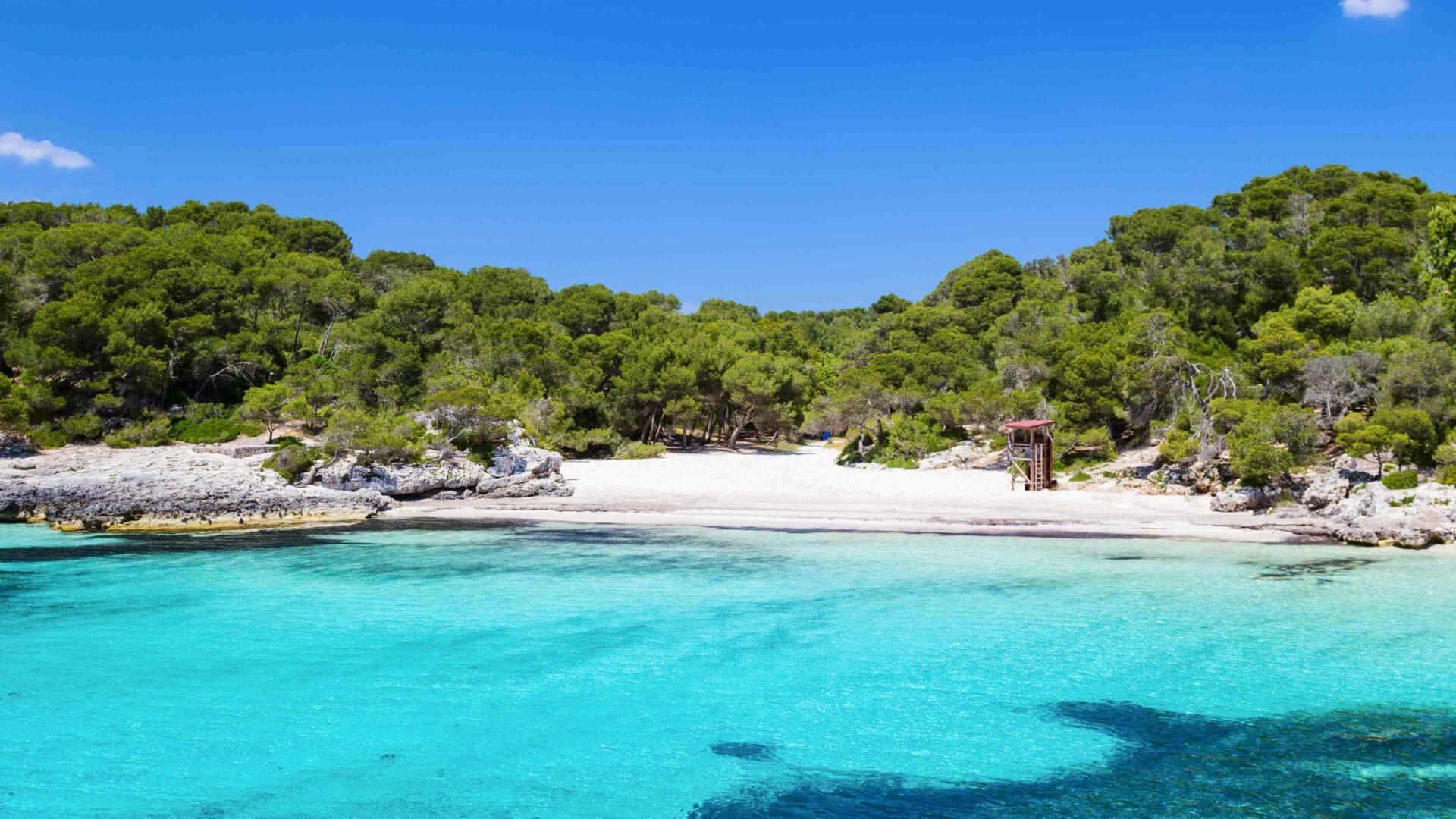 Menorca strand Cala Turqueta